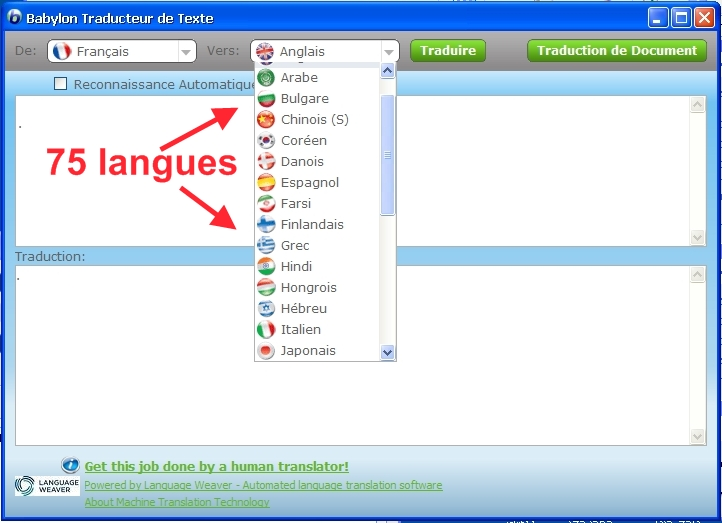 telecharger traduction arabe francais english